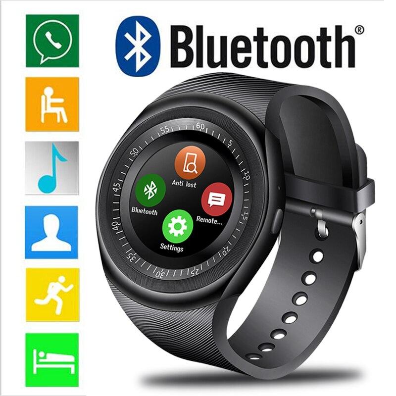 Étanche Mode Montre Smart Watch Hommes Sport Podomètre Surveillance de la Pression Artérielle Montre Smart Watch Informations Rappel Reloj inteligente