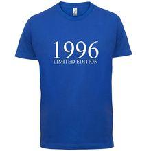 Limited Edition 1996 - Mens T-Shirt  Birthday Present-Gift Sleeve Hot Print T Shirt Short Tops