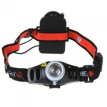 Mini 800 Lumens CREE Q5 LED Headlamp Headlight for Bicycle Hunting Camping Outdoor Lighting Zoom In/ Out Adjustable Focus Light