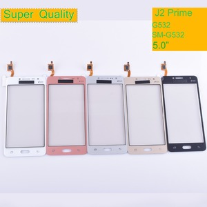G532 TouchScreen For Samsung Galaxy J2 Prime G532 SM-G532 Touch Screen Digitizer Panel Sensor Front Glass Outer Lens NO LCD