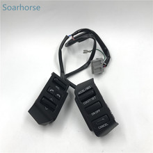 Soarhorse For Nissan Teana 2004-2007 Multifunction Steering Wheel Audio Volume Bluetooth Cruise Control Switch button