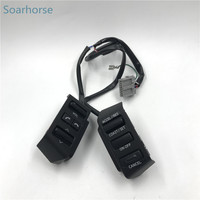 Soarhorse For Nissan Teana 2004 2007 Multifunction Steering Wheel Audio Volume Bluetooth Cruise Control Switch button