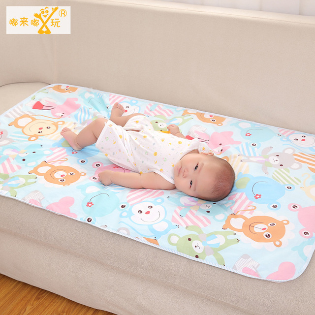 1 pic napkins mattress diapers Inflatable mattress diaper diapers for newborns Diaper Baby changing mat  75*120 TND1