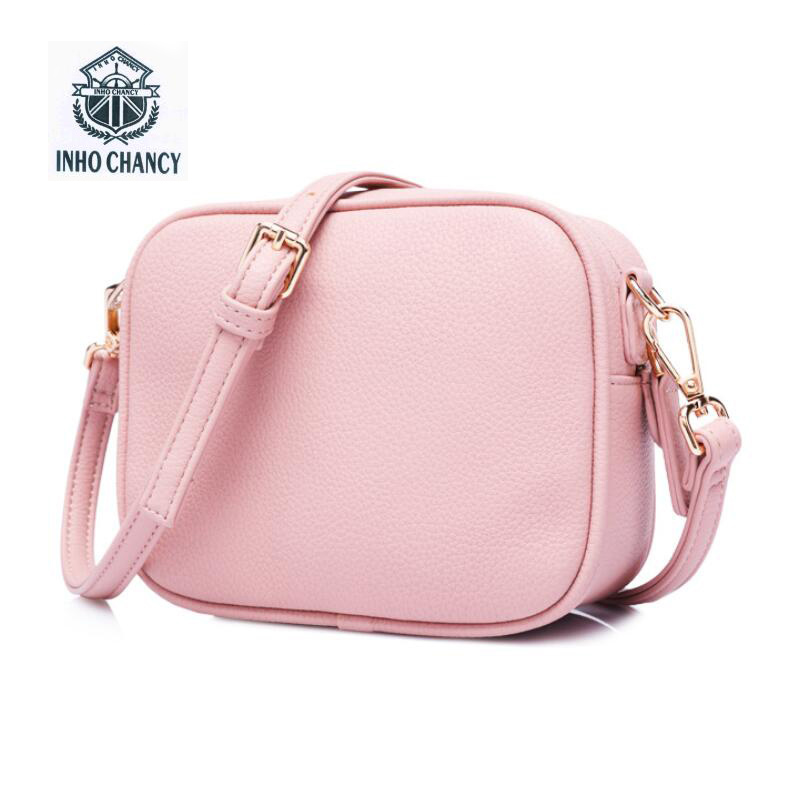 Den nye simple Famous Brand Design Small Square Flap Taske Mini Women Messenger Crossbody Tasker Sling Shoulder Leather Håndtasker