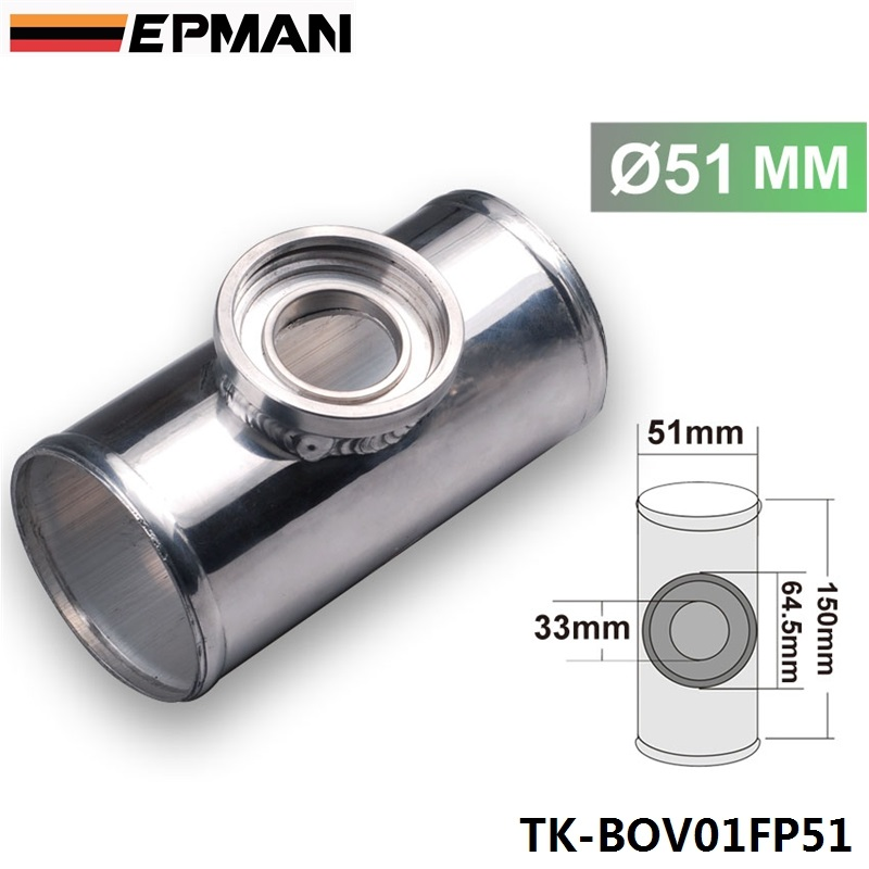 UNIVERSAL 51MM 2 TURBO ALUMINUM FLANGE PIPE TUBE SSQV SQV BOV BLOW OFF VALVE TK-BOV01FP51 brand new high quality bov turbo blow off valve for hks sqv4 ssqv4 better performance than sqv3 fast delivery