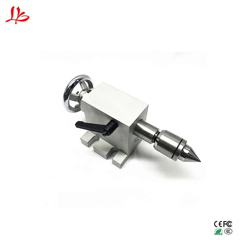 Cnc machine Axe Rotatif kit Rotatif activité poupée Center hauteur 65mm pour 3d graveur 4 axe