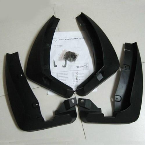 Fit for 2009-2013 Renault Koleos Soft plastic Mud Flaps Splash Guard