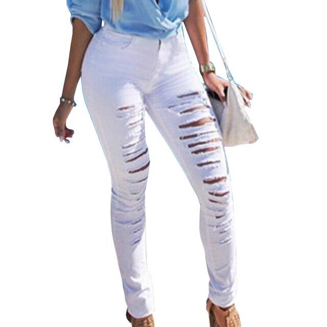 Сексуально рваные джинсы
