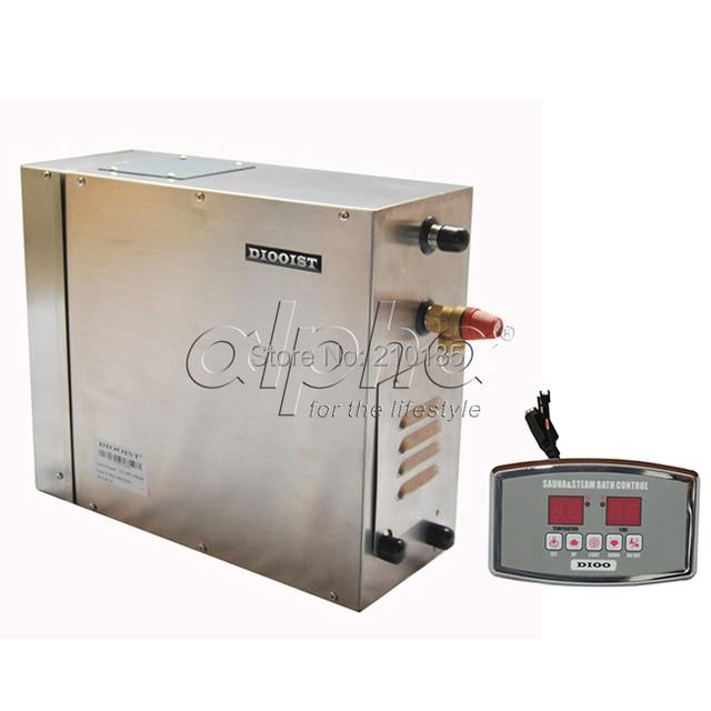 Free Shipping 9 0kw200 240v 50hz Stainless Stel New Steam Generator