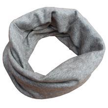 1 шт., фирменный теплый вязаный крючком шарф для маленьких девочек и мальчиков, шарфы, Детские Новорожденные малыши, Корейская зимняя однотонная полосатая шапка, снуд