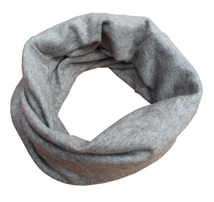 1 peça marca quente crochê bebê meninas meninos cachecol cachecóis crianças recém-nascidos coreano inverno sólido listrado chapéu snood