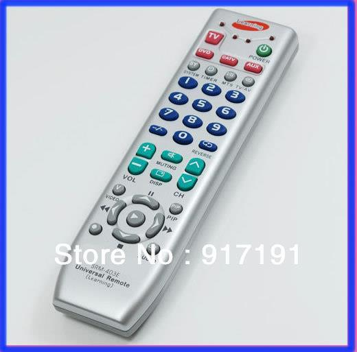 1Pc Universal Learning Remote Control for TV VCD DVD VCR universal remote control for tv vcr sat cable vcd dvd ld cd amp 2 aa