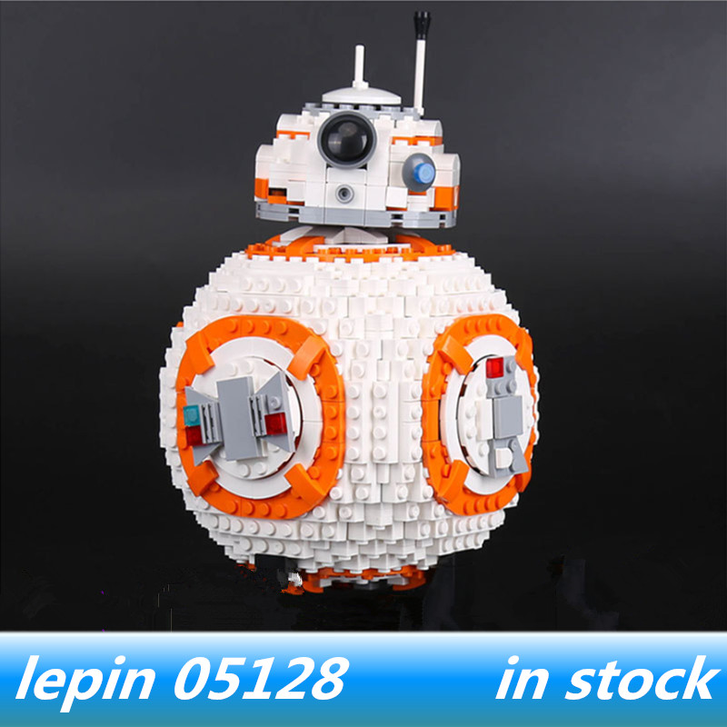 Lepin 05128 lepin star wars B Double B 8 Robot Set legoing Star wars B8 75187 Building Blocks Bricks цена