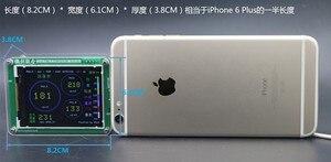 Image 3 - M5 PM2.5 חלקיקים PM1.0 PM10 אובך אבק PM2.5 ניטור איכות אוויר חיישן לייזר עם טמפרטורה ולחות TFT LCD