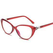 ee6dc393ee571 NYWOOH Gato Olho Mulheres Óculos de Leitura Óculos Transparentes Óculos de  Dioptria Presbiopia Hipermetropia Óculos Feminino