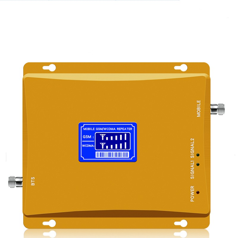 Dual-frequency 900 2100 Gsm/ 2g/3g/4g Mobile Signal Booster/repeater Separate Host