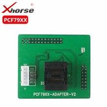Adaptador xhorse pcf79xx para vvdi prog, programador para ler e escrever pcf79xx transponder pcf7922/41/45/52/53/61