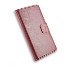Lenovo A5000 Leather Case Flip Cover for Lenovo A 5000 Case Phone Cover Slots & Holder Free Shipping