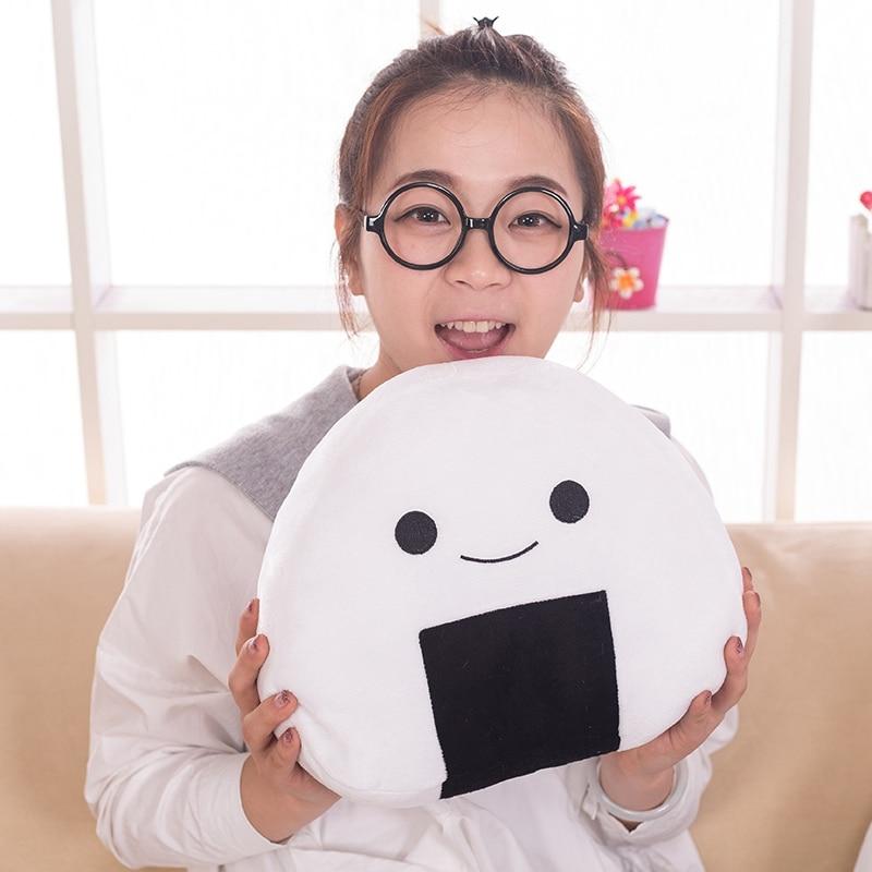 Cute Pillow Doll : 2016 Japanese sushi rice pillow cushion creative plush toy, cute balls doll, the second element ...