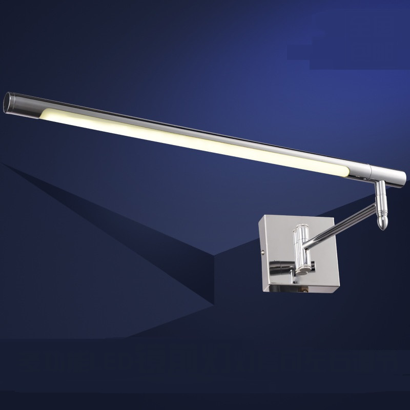 LED wall lamps mirror light make-up water fog mirror cabinet lamp side loading tension adjustment wall lights ZA62 ZL152