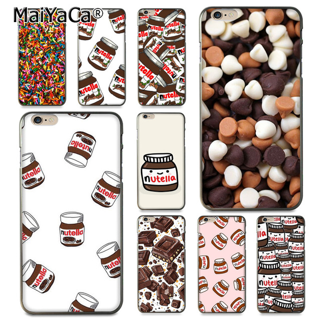 maiyaca chocolate food tumblr nutella classic image paintings cover mobile phone case for iphone 8 7