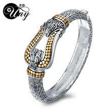 UNY Bangle Antique Horse Shoe Bracelet Fashion Designer Brand Jewelry Vintage Bangles Christmas Free Ship Womens Cuff Bracelets