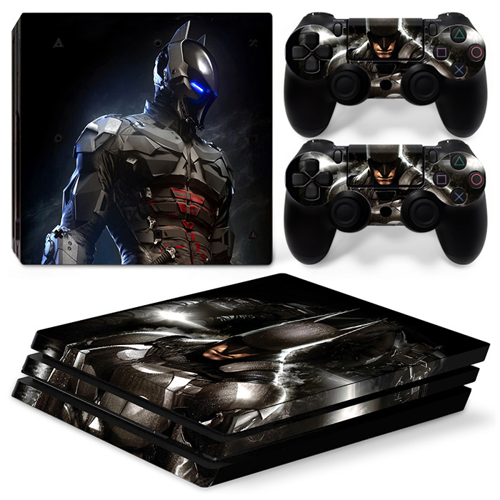 Strong Bat Man For PS4 Pro Skin Sticker For Sony Playstation 4 Pro Console and 2Pcs Controller Skins free shipping