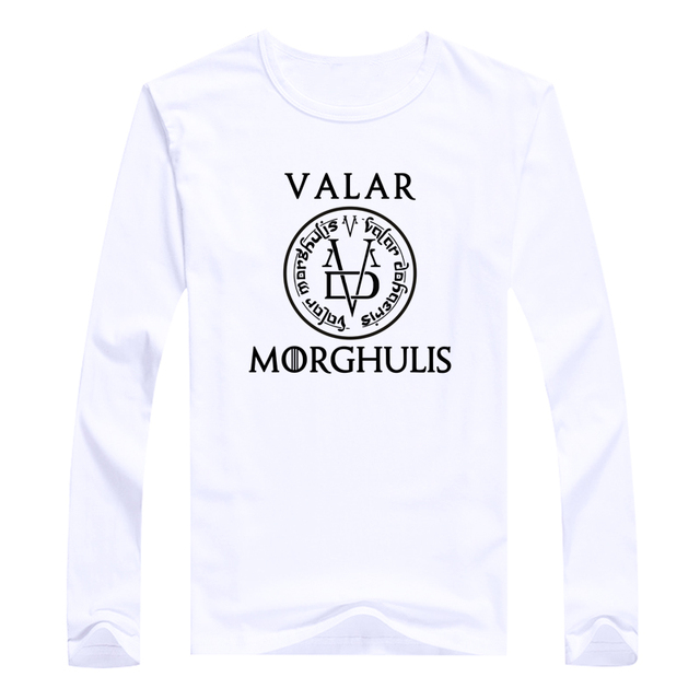 Game of Thrones Valar Morghulis Long Sleeve T-Shirt