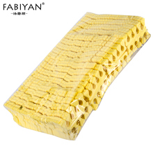 Yellow 200pcs/PackNail Art 100 Pairs Toe Separators Fingers Foots Sponge Soft Gel UV Beauty Tools Polish Manicure Pedicure