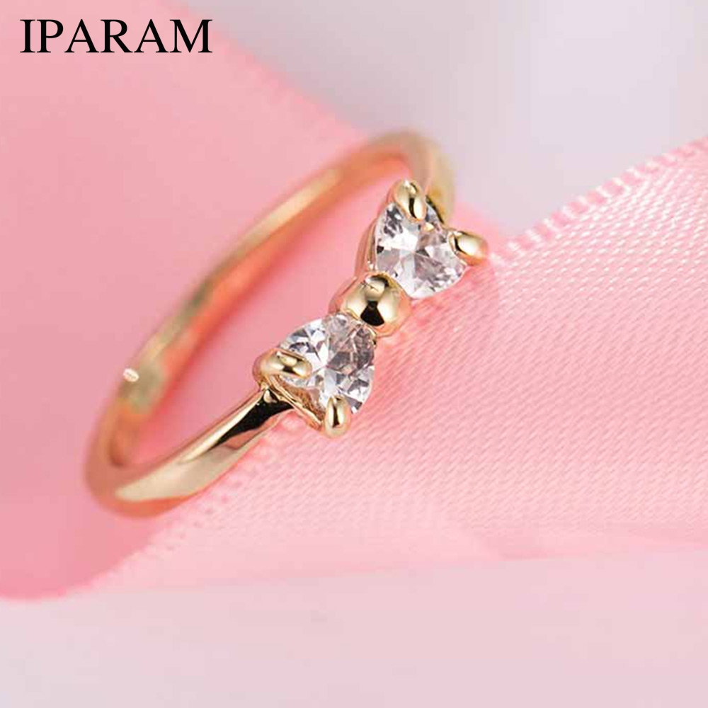 Aliexpress.com : Buy IPARAM Austria Crystal rings Gold Color finger ...