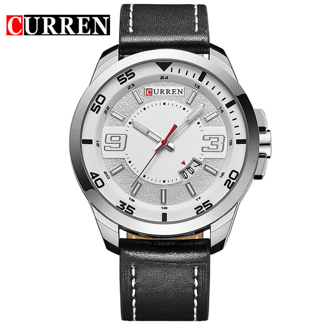 цены 2016 new fashion Curren brand design business army men male clock casual military luxury wrist quartz sport gift watch 8213