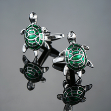 Fashion Men's New Arrival Animal Cuff links Novelty Black Dog