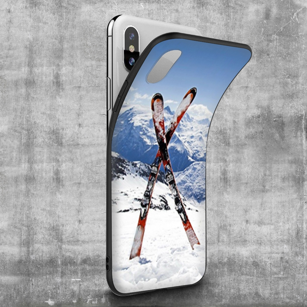 Skiing/ Snowboard Skis Case for iPhone 5