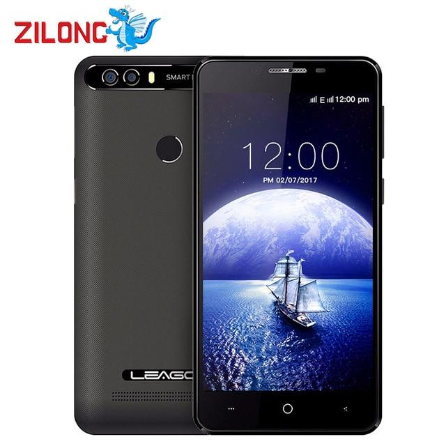 """Оригинальный leagoo kiicaa Питания Android 7.0 4000 мАч смартфон 5.0 """"MT6580A 4 ядра двойной cam 2 ГБ Оперативная память 16 ГБ отпечатков пальцев мобильного телефона"""