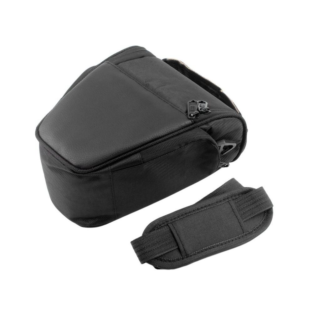 Fashional Triangle Waterproof Camera Bag Single Shoulder Anti-Shock Camera Storage Bag for SLR Camera Nylon Messenger Bags