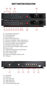 Image 2 - MU 6S Karaoke Microfono Bluetooth Microfono Per Lezioni di Computer Studio Microfono Microfono Senza Fili Microfono Palmare