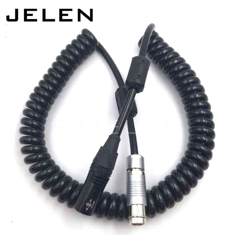 Camera ARRI ALEXA XT, ARRI ALEXA SXT,ARRI ALEXA  Camera power line , ARRI Camera power 2 pin plugs XLR 3-pin male plug turn,  1M arri alexa mini amirai power link lemo fhj 2b 8 pins female to 4 pin neutrik xlr 4 pin female cable 1m