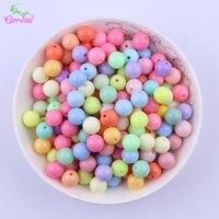 Новый Цвет Mix Лот 10 мм 880 шт. Коренастый Твердые шарики пастельные цвета для ожерелье решений для девочек DIY ювелирных материалов для etsy