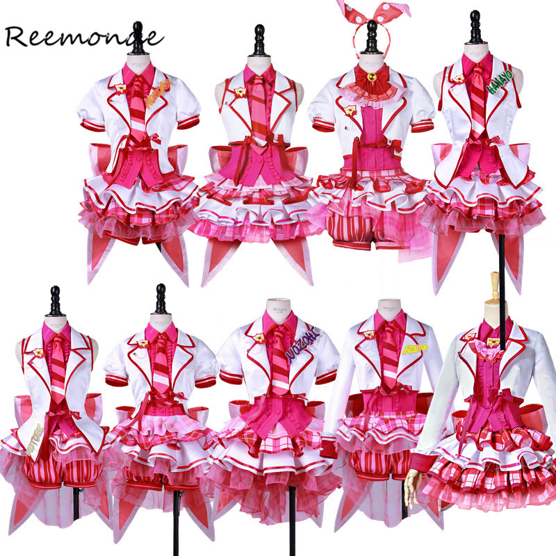 Anime Love Live School Idol Project Cosplay Costumes Love Live Aqours In Women Girl Uniform Kotori Minami Honoka Nozomi Kotori