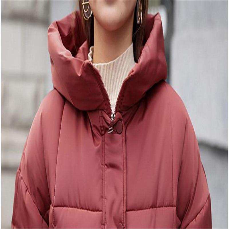 D'hiver green Européenne Capuchon Occasionnel Femme Coatcq2226 Plus Femmes Lâche La Style Vestes red Taille 3xl gray Rembourré Hiver Bas white 2018new Veste À Le Coton Vers Black SYxdRpqSH