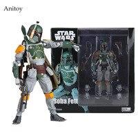 Star Wars REVO 005 Boba Fett PVC Hành Động Hình Sưu Tập Mô Hình Toy 16 cm KT1283