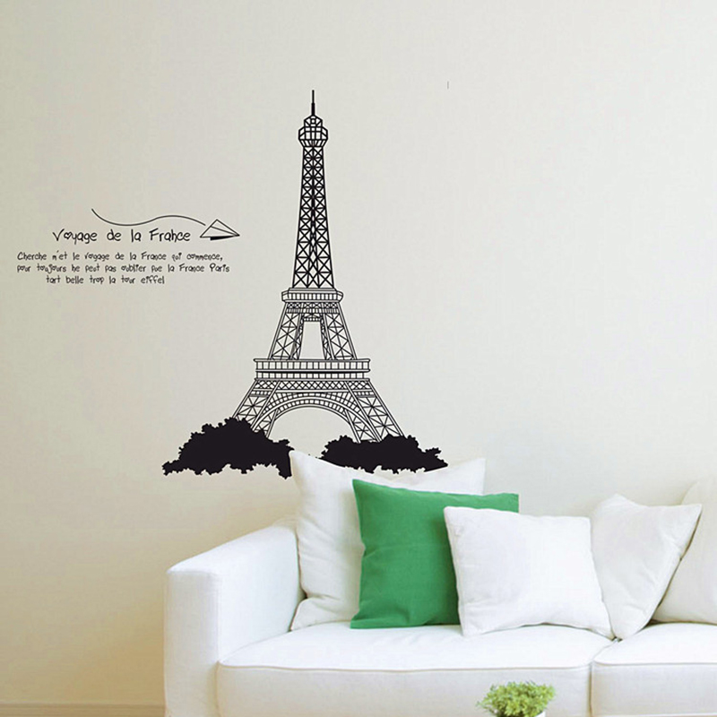 Eiffel Tower Wall Decor popular eiffel tower wallpaper for walls-buy cheap eiffel tower