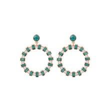 3 farben Acryl Großen Kreis Ohrringe für Frauen aliexpress Indien Fashion Statement Ohrringe Hängen Ohr Schmuck
