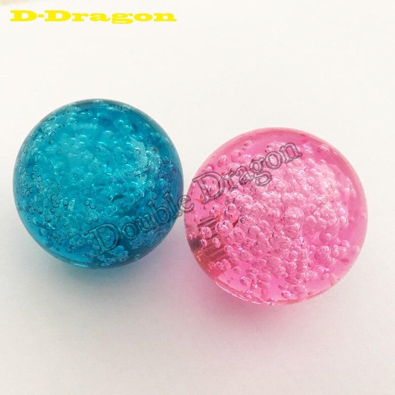 Free Shipping 2pcs/lot 40mm Crystal Ball Joystick Topball For Arcade Joystick Suitable To Sanwa Joystick/Zippy/Seimitsu