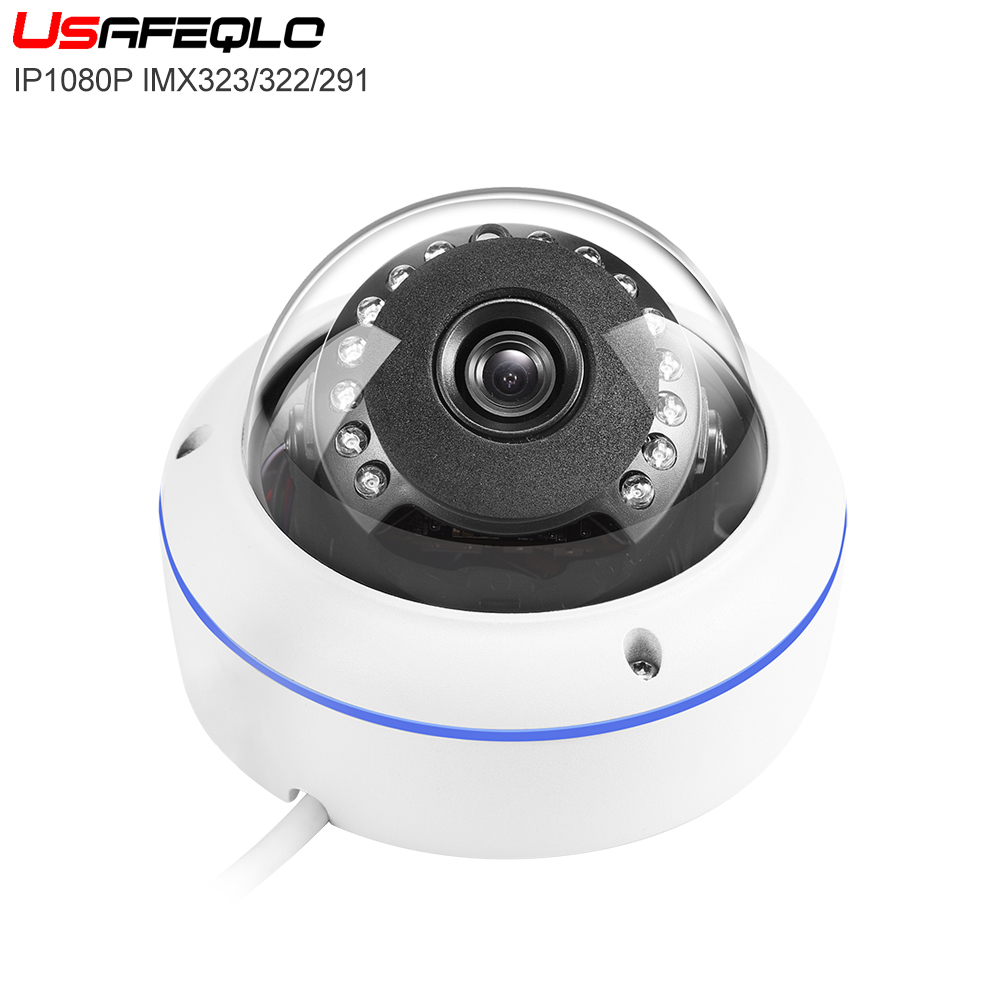 IMX323 322 291 H 264 H 265 48V POE Outdoor Bullet 2MP IP Camera Security ONVIF