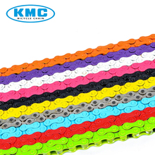KMC Bicycle Chains Z410 1/8 Single Speed Fixed Gear Road Bike Chain 112 Links 1/2