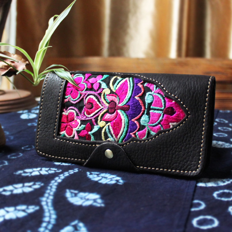 Длинные Роскошные Брендовые женские кошельки, модный кожаный кошелек на застежке, Женский кошелек, клатч, женский кошелек, кошелек для моне... - 3