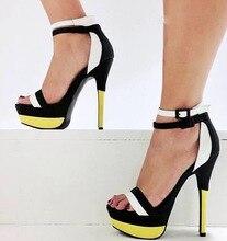 Mavirs Fashion summer women's ladies girls princess bridal wedding party ankle strap platform high heel sandals pumps shoes