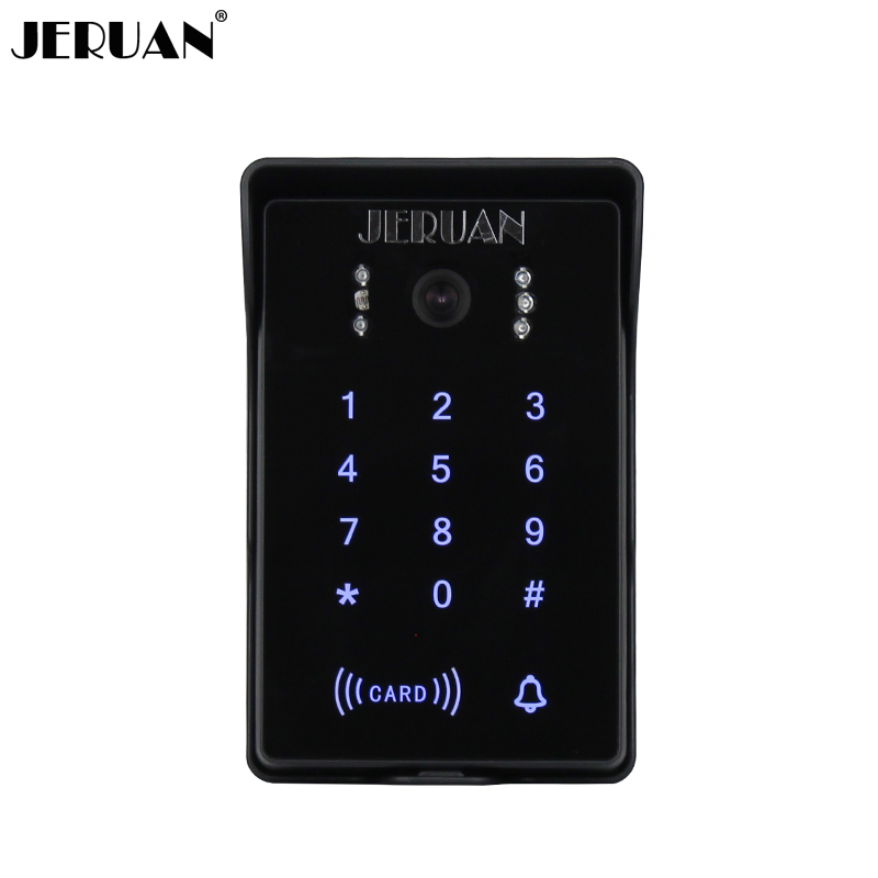 Türsprechanlage Sicherheit & Schutz Stetig Jeruan Touch Key Passwort Tastatur Wasserdichte Video Tür Sprechanlage System Outdoor Lautsprecher Intercom Ip55 Wasserdichte D6k