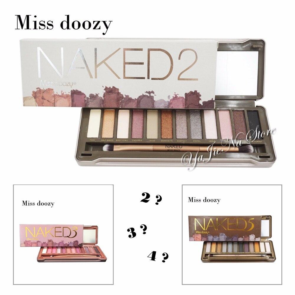 Nk 2 3 5 Pro Nude 12 Colori Matte Shimmer Impermeabile di Marca Ombretto Pallete Balsamo Per Le Labbra Fronte di Trucco Cosmetico Naturale Regalo